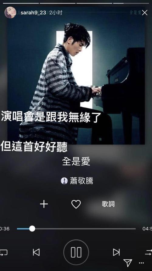 夜太美-萧敬腾(MP3歌词/LRC歌词) lrc歌词下载 第1张