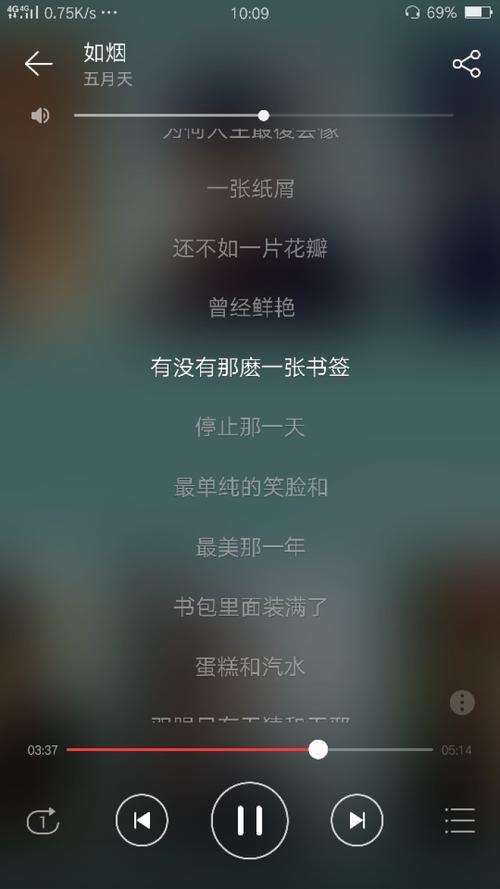 如烟-五月天(MP3歌词/LRC歌词) lrc歌词下载 第1张