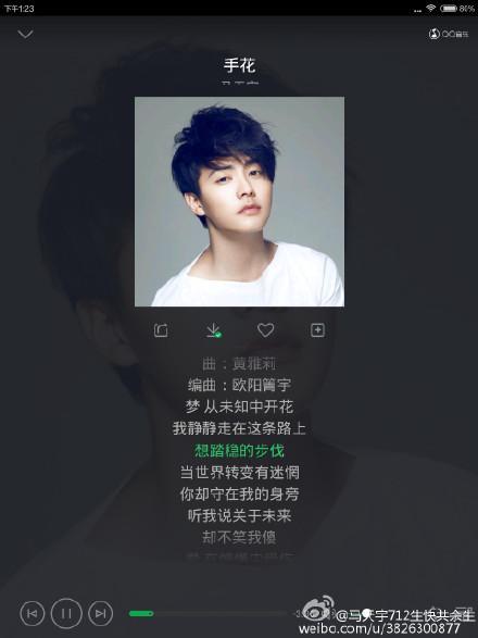生如雪花-马天宇(MP3歌词/LRC歌词) lrc歌词下载 第2张