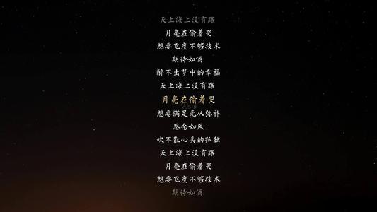 月亮偷着哭-何静(MP3歌词/LRC歌词) lrc歌词下载 第1张