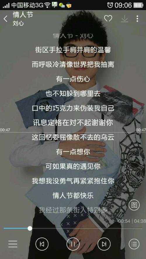 情人节-刘心(MP3歌词/LRC歌词) lrc歌词下载 第1张