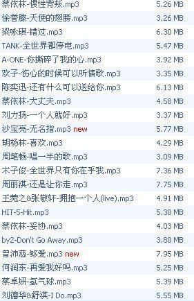 快乐情人-蔡依林(MP3歌词/LRC歌词) lrc歌词下载 第3张