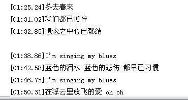 我只有独自悲哀-胡力(MP3歌词/LRC歌词) lrc歌词下载 第3张