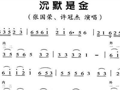 沉默是金-张国荣(MP3歌词/LRC歌词) lrc歌词下载 第1张